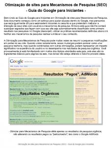 Manual Otimização de Site