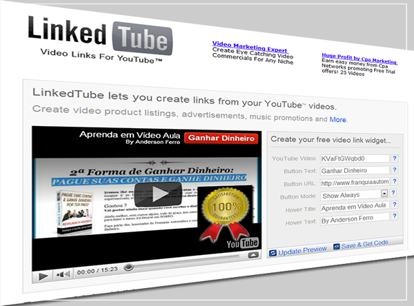 Linked Tube - Vídeo Links para Youtube