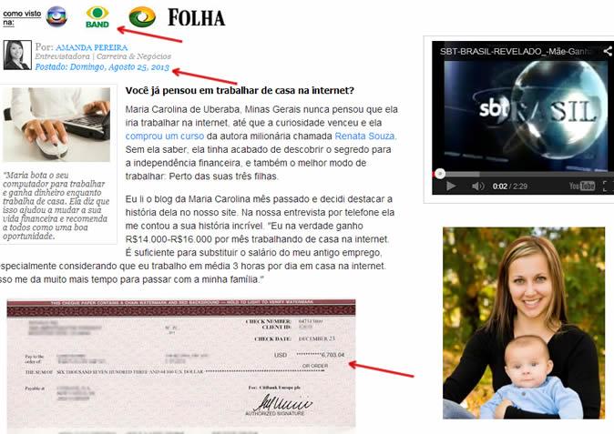 Mãe Ganha R$16.000 Mês fraude comprovada
