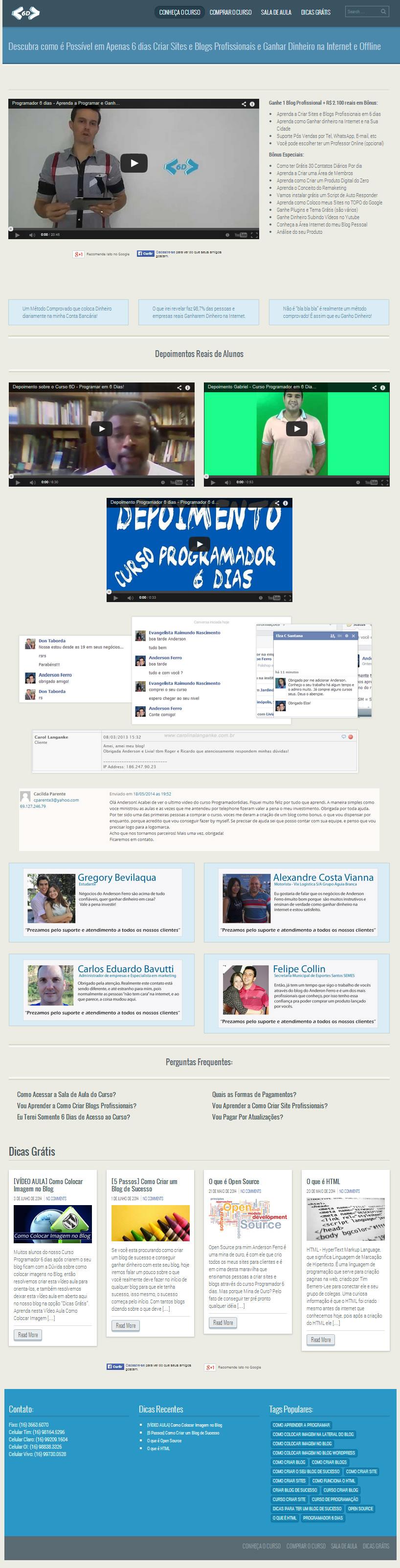 como-criar-blog-como-criar-site-