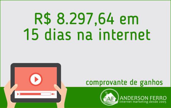 [COMPROVANDO GANHOS] Ganhar Dinheiro – R$ 8.297 em 15 dias