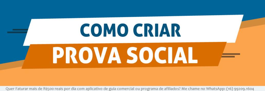 Como Criar Prova Social